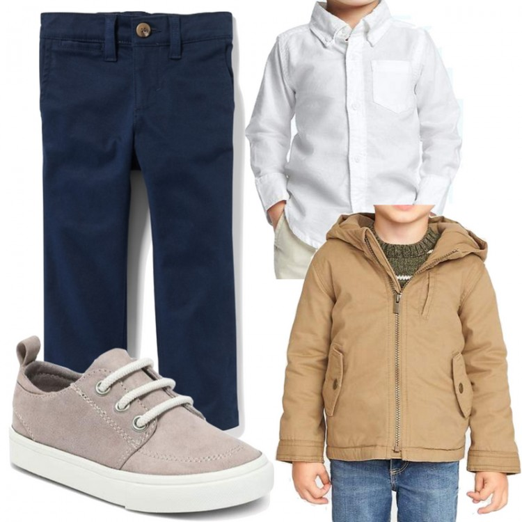 12 pieces to mix and match for toddler boys