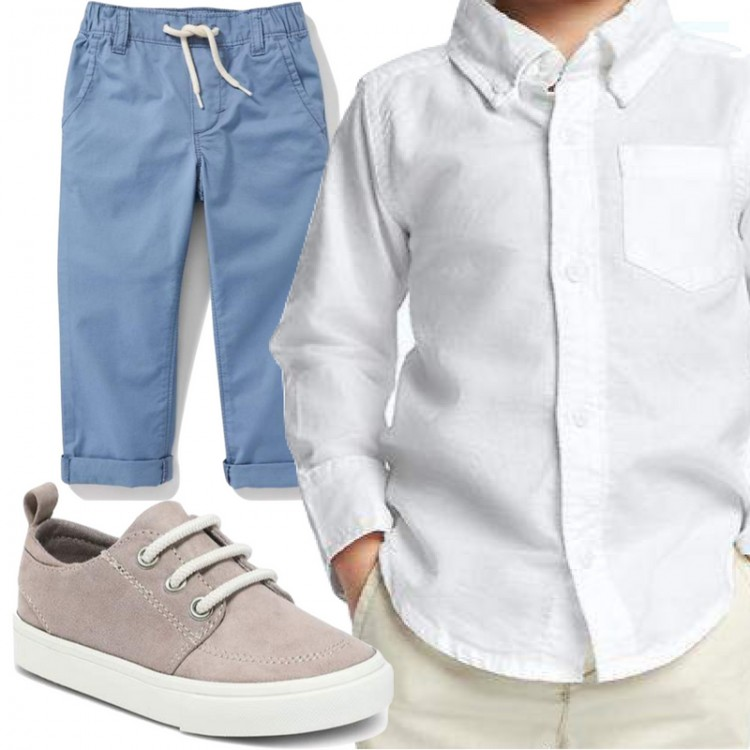 simple toddler boy outfit