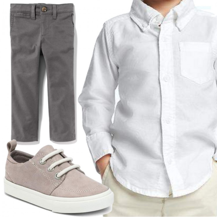 casually preppy little boy outfit ideas