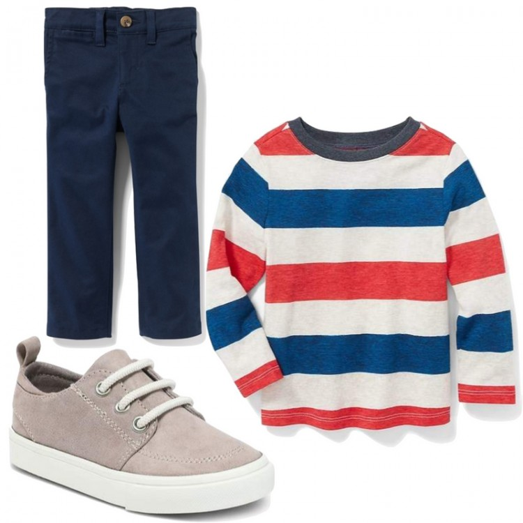 fun little boy outfit idea for fall