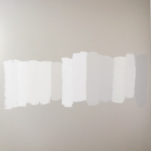 Neutral color scheme for whole house - see these soft neutral paint picks on the wall