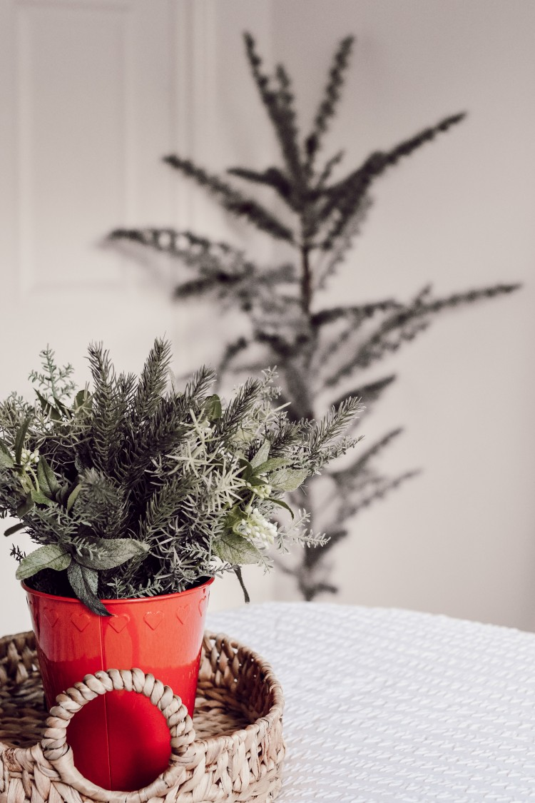 faux holiday greens from ikea