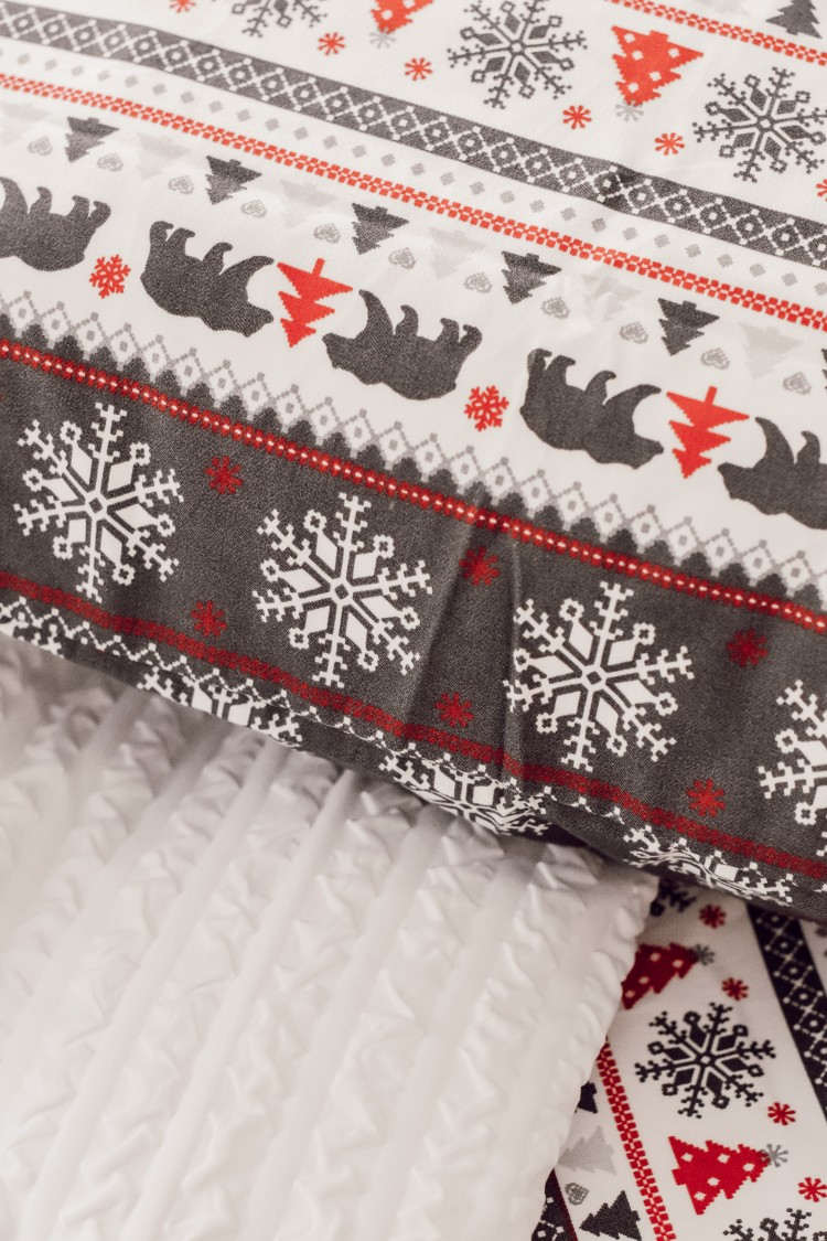 the cutest christmas sheet set - reminds me of Lands End but SO much less expensive!