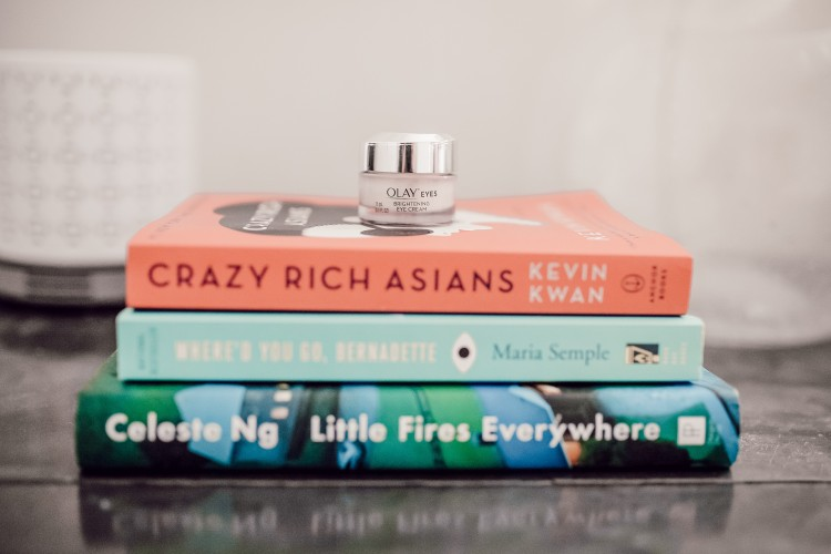 book club book ideas for 2019 - crazy rich asians, little fires everywhere, and where'd you go, bernadette