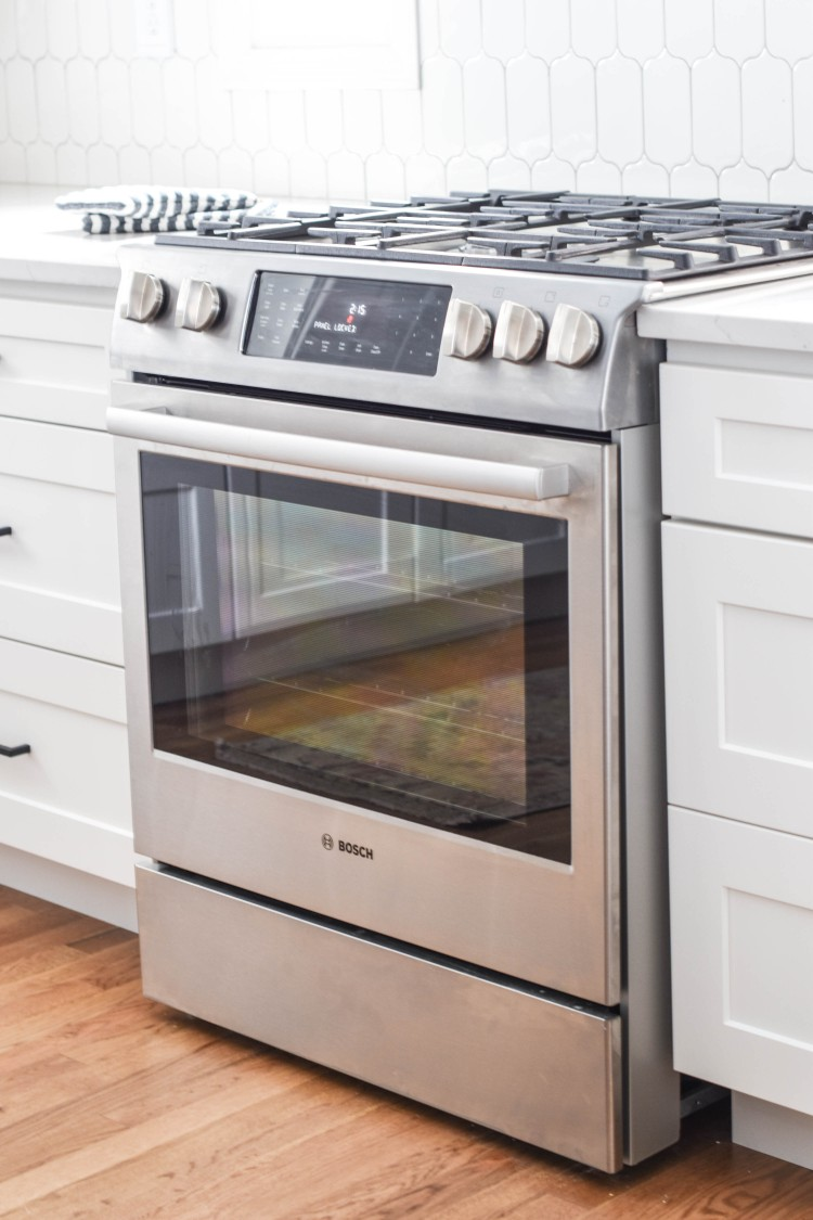 Bosch Dual Fuel Range Gas Top