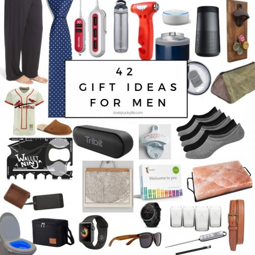 42 gift ideas for men for christmas