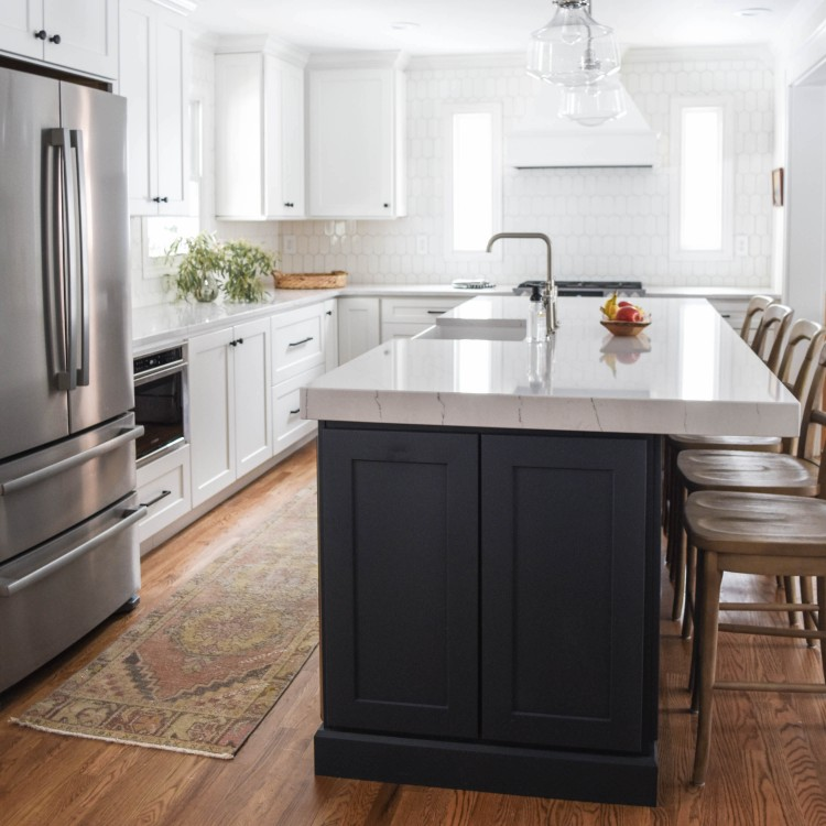lovely lucky life kitchen remodel reveal