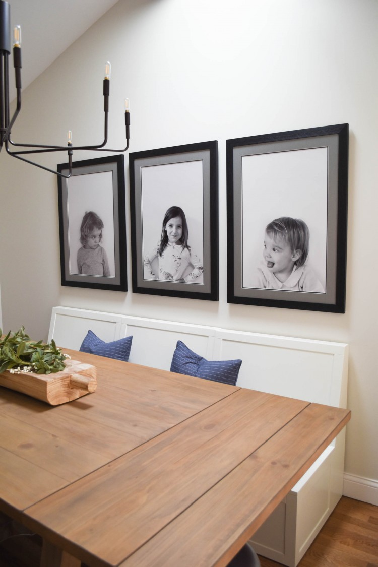 how to create your own custom black & white portraits for personalized wall art