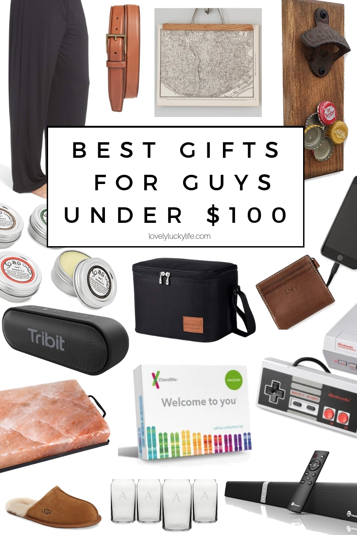 gifts under $100 for the man who has everything