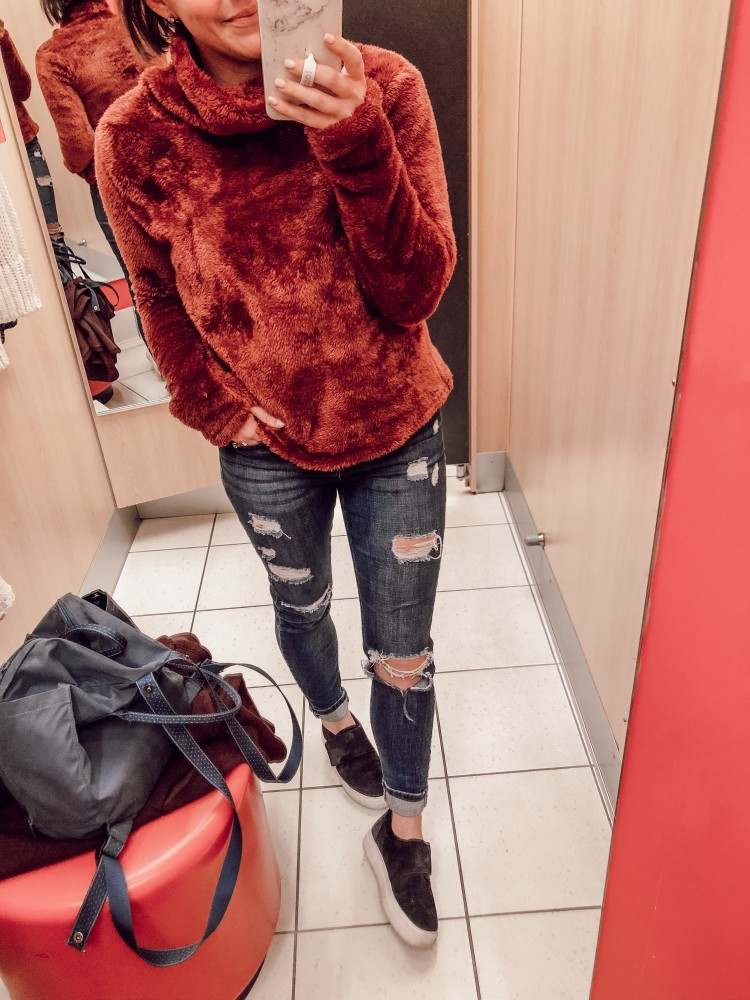 love this joylab sherpa from target! under $25 and so cozy