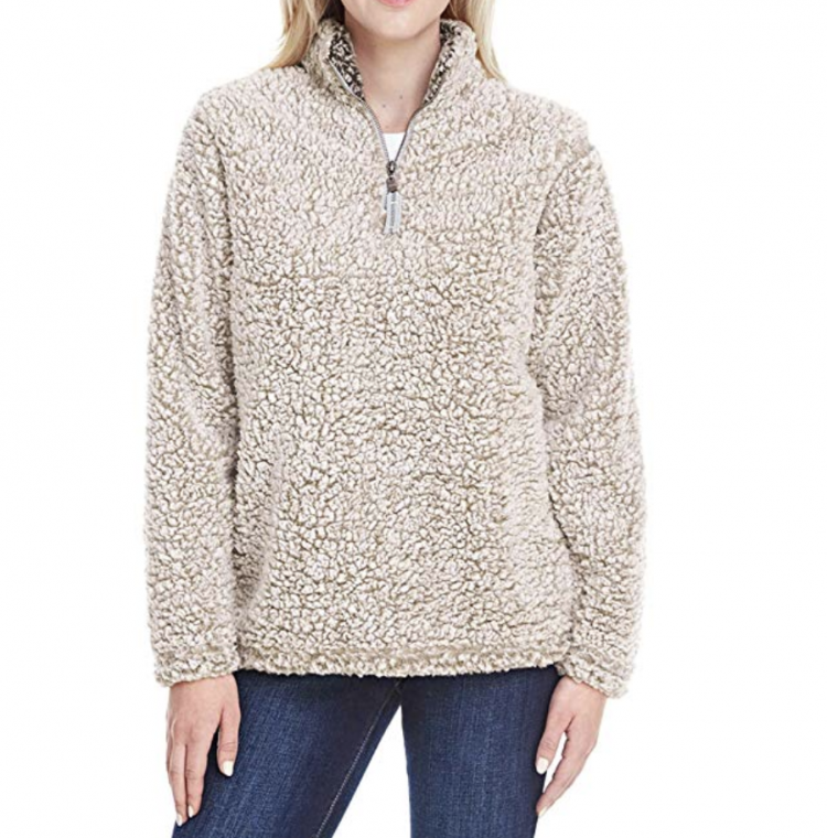 taupe pullover from amazon