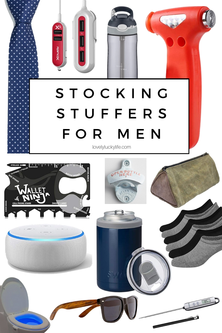 stocking stuffer gift ideas for men