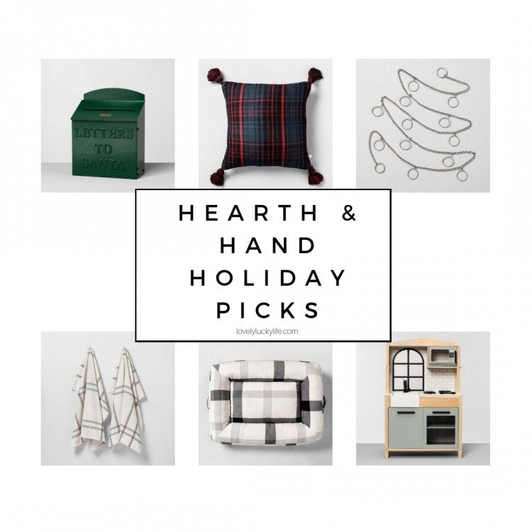 target hearth and hand holiday picks