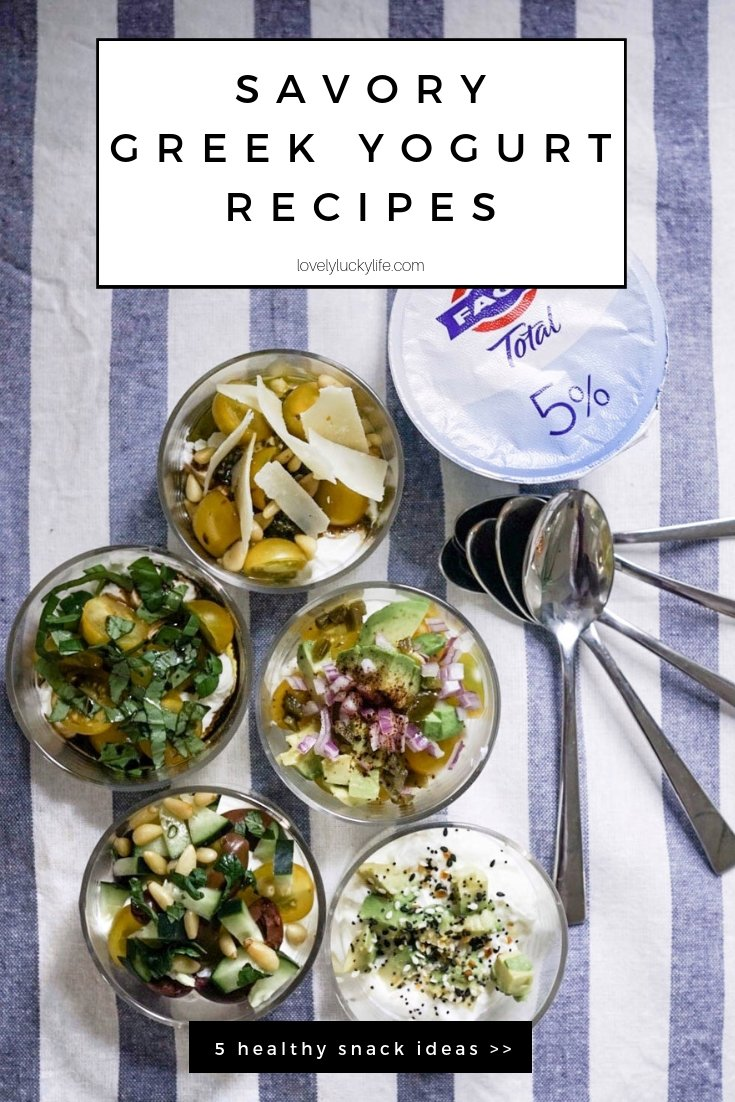 keto greek yogurt snack ideas - all these greek yogurt bowls are savory and not sweet, plus they're packed with healthy fats - #keto