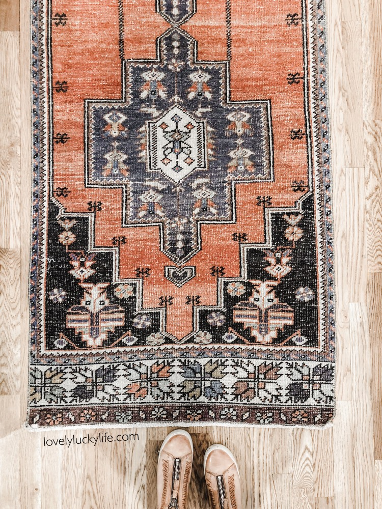vintage turkish rugs have the best details - love the mix of geometry and muted colors