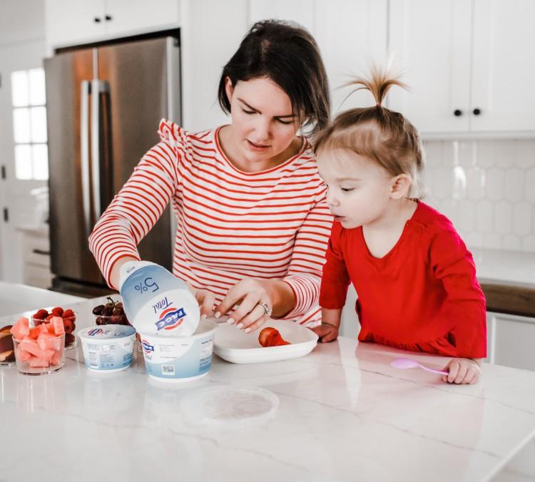 easy valentine's day snack idea for preschoolers
