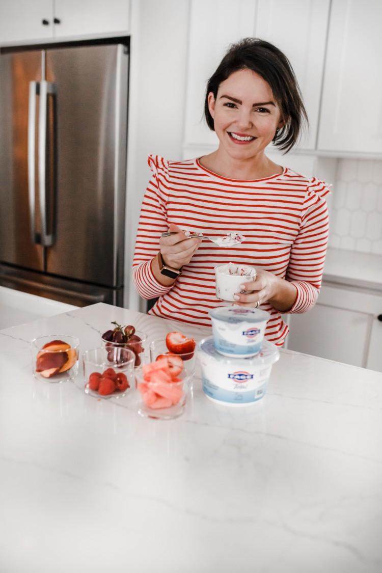 sweet toppings for greek yogurt
