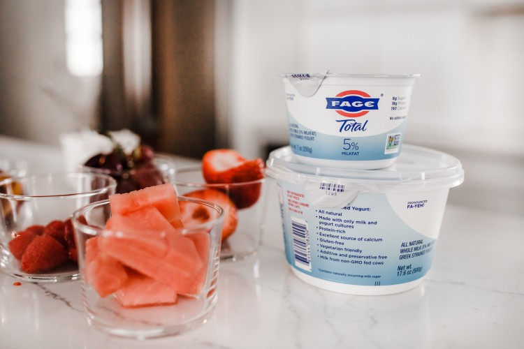 greek yogurt topping ideas