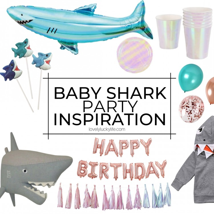 2nd birthday party ideas - baby shark! love it