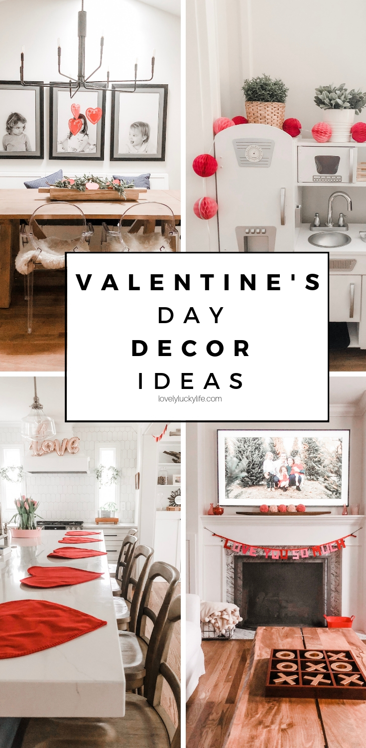 13 of the cutest Valentine's Day decoration ideas for your home - no crafting skills needed ;)