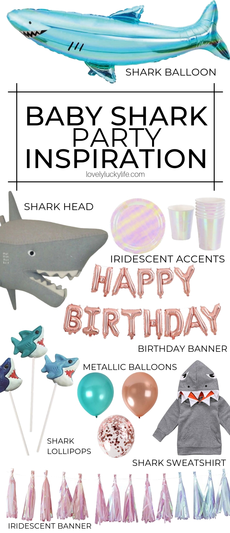 baby shark two two two two to two birthday party theme inspo for a 2nd birthday! baby shark birthday party theme board