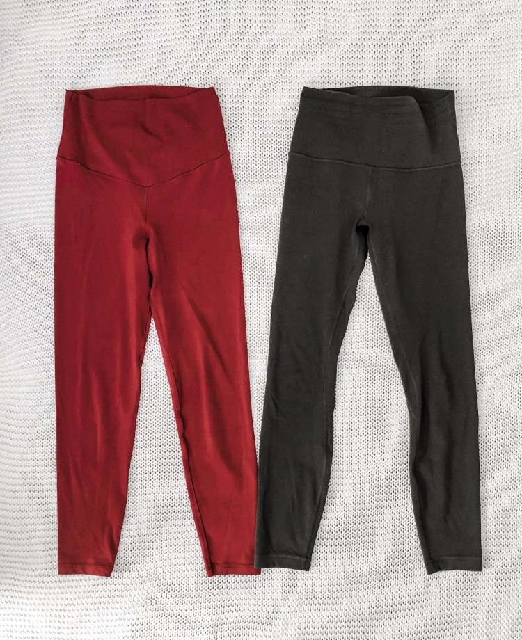 lulu align leggings versus american eagle leggings - are the lulu leggings worth the money?