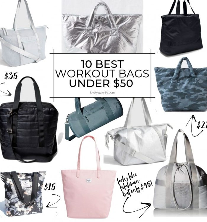 10 of the Best Workout Bags for Women Under $50
