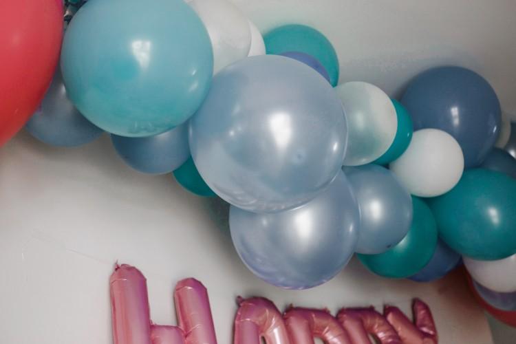mermaid party decoration idea