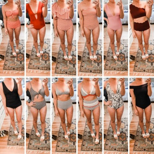 mom swimsuit try on 2019 - suits from $11 to $110