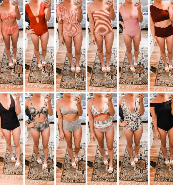 Mom Swimsuit Try On – 12 Suits from $11 to $110 + A $750 Giveaway