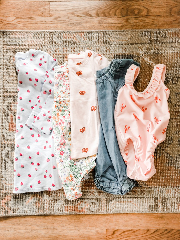 toddler girl finds from Old Navy for spring
