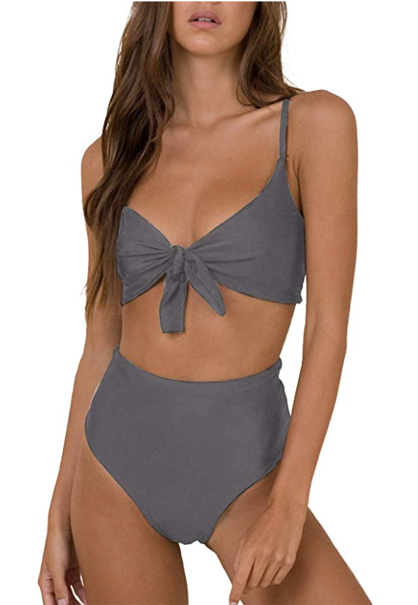 high waist swimsuit from amazon