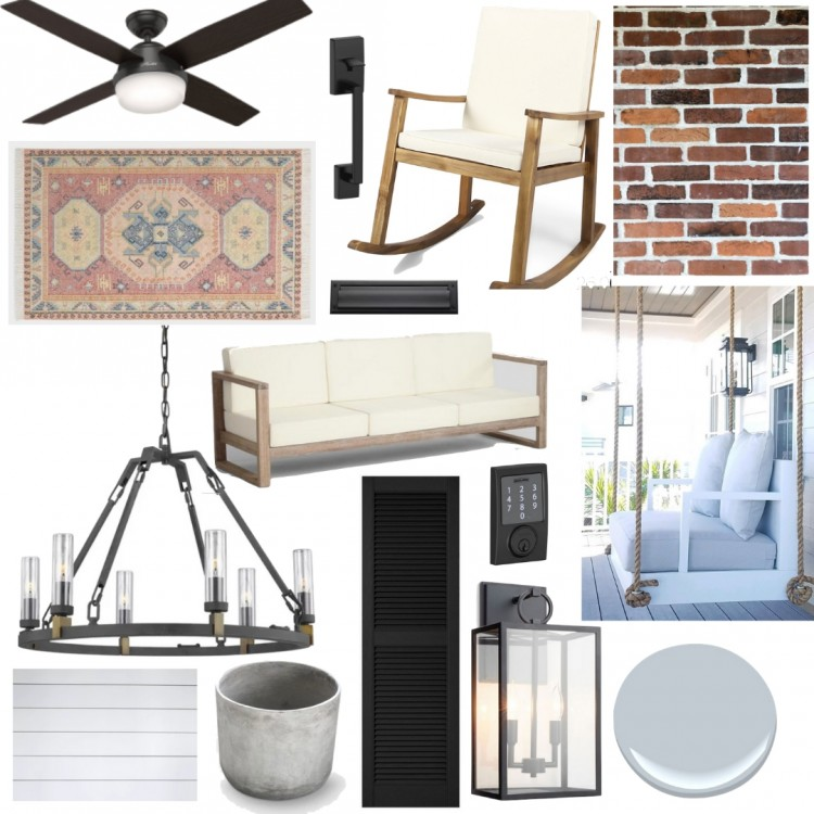 Spring Home Prep + Our Front Porch Moodboard
