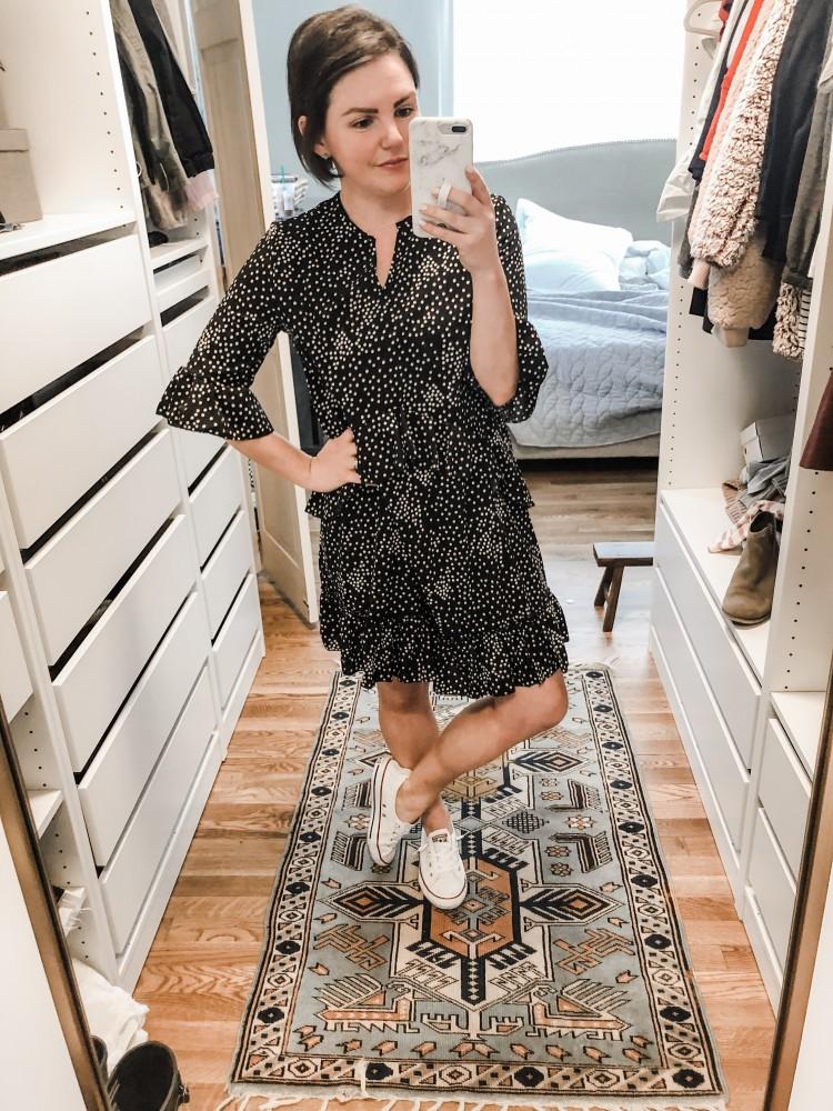 ruffle dress from Amazon