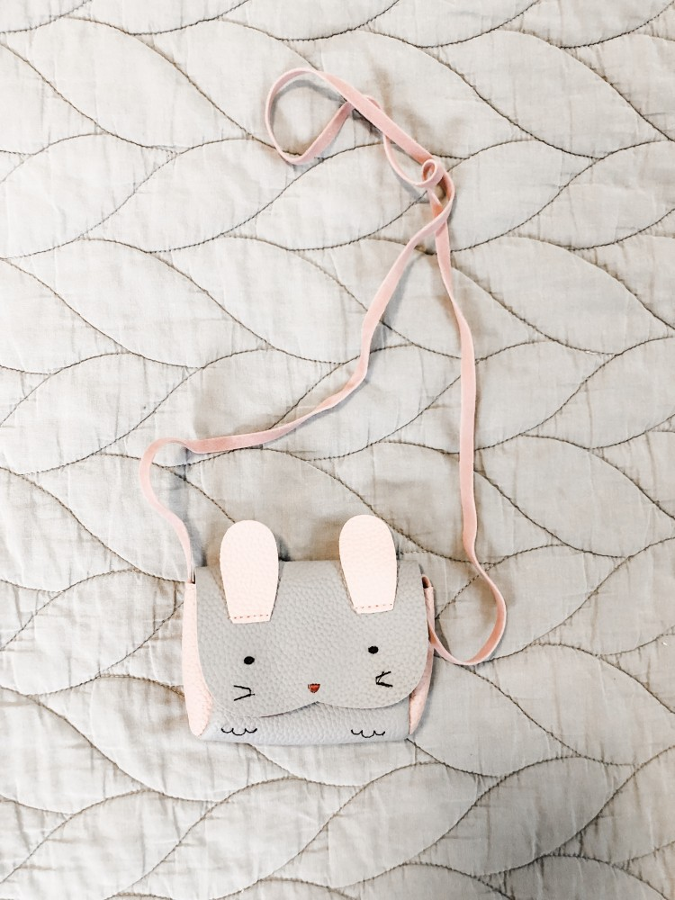 cute little bunny crossbody for little girls for only $4!