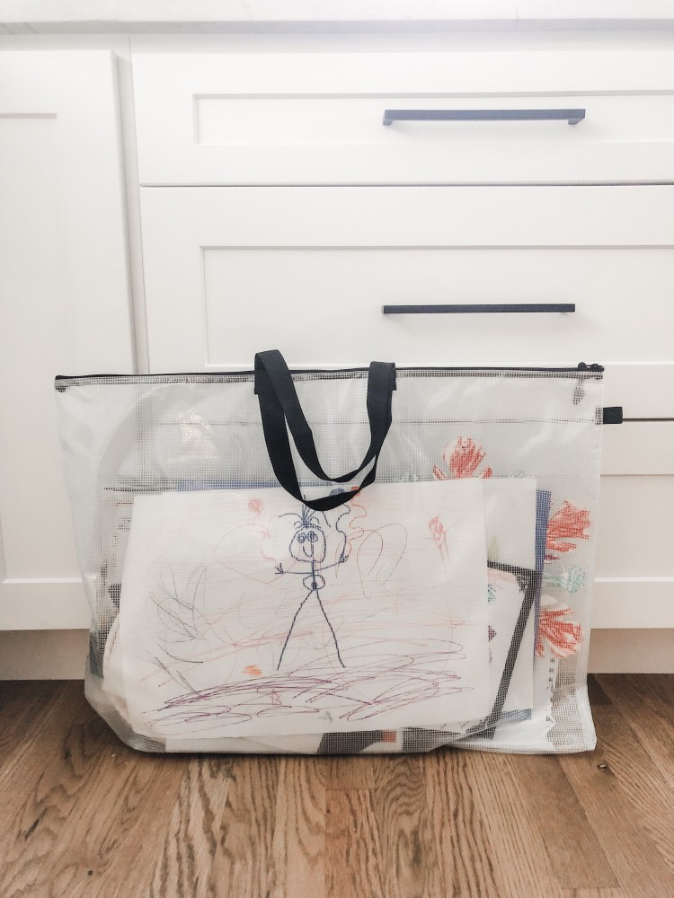 kids art bags