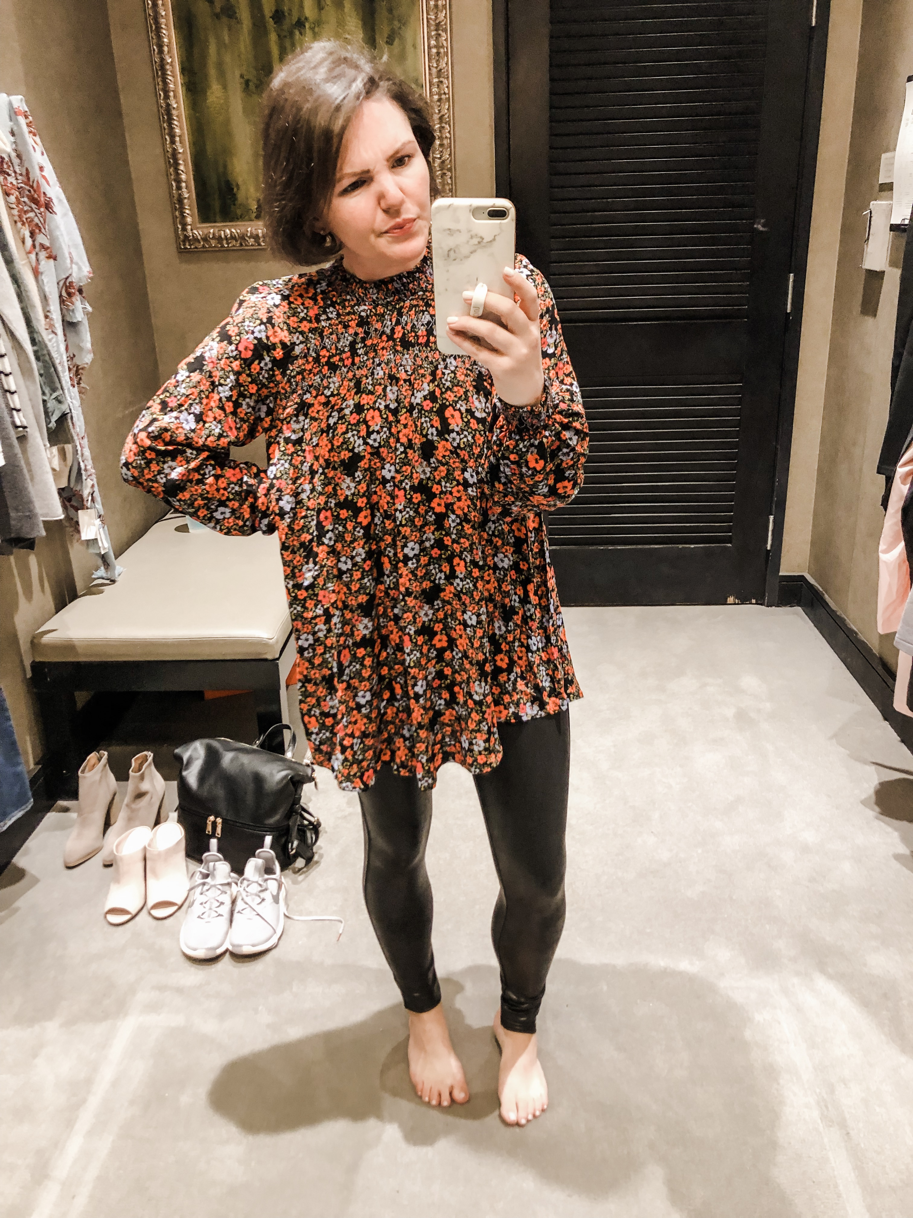 96bf3ef89 this Free People tunic was a mega bust for me – #NOTCUTE – but it was  darling on my friend whose shoulders are less broad than mine // shop it  here