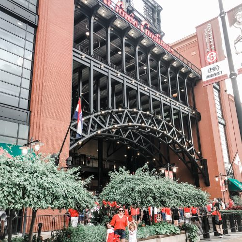 tips for taking your kids to a cardinals game