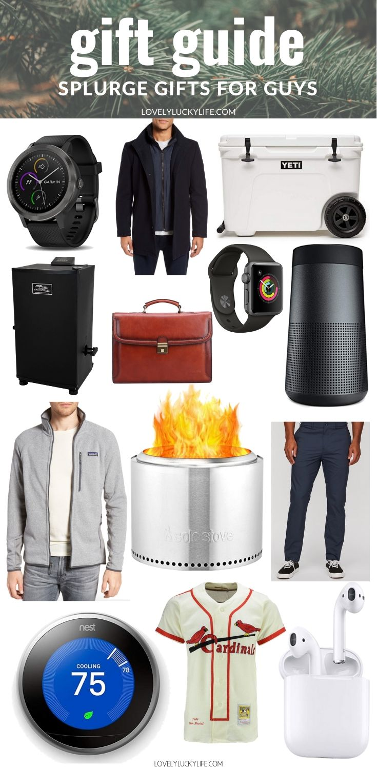 2019 men's gift guide for the man who has everything