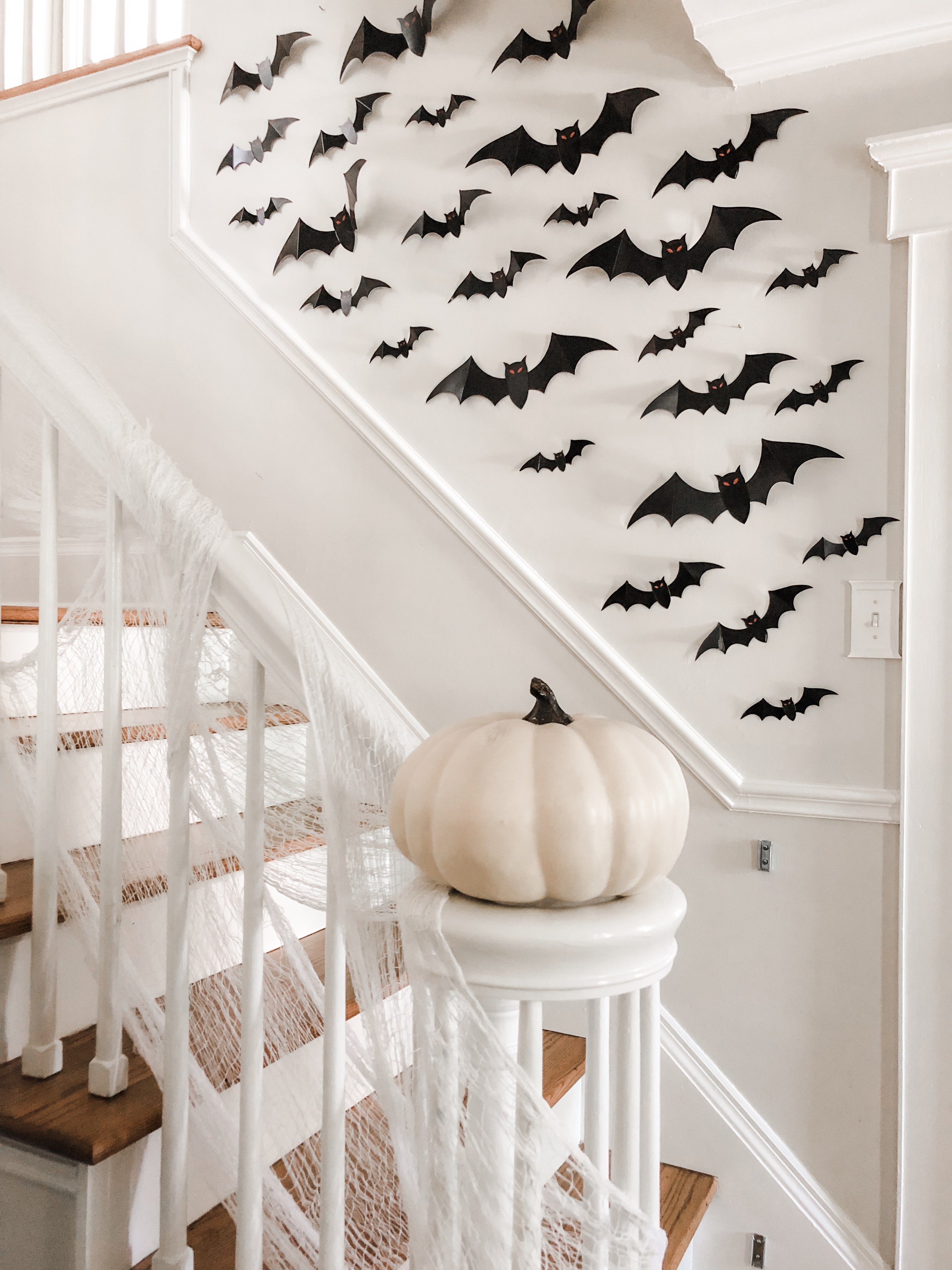 spooky halloween staircase