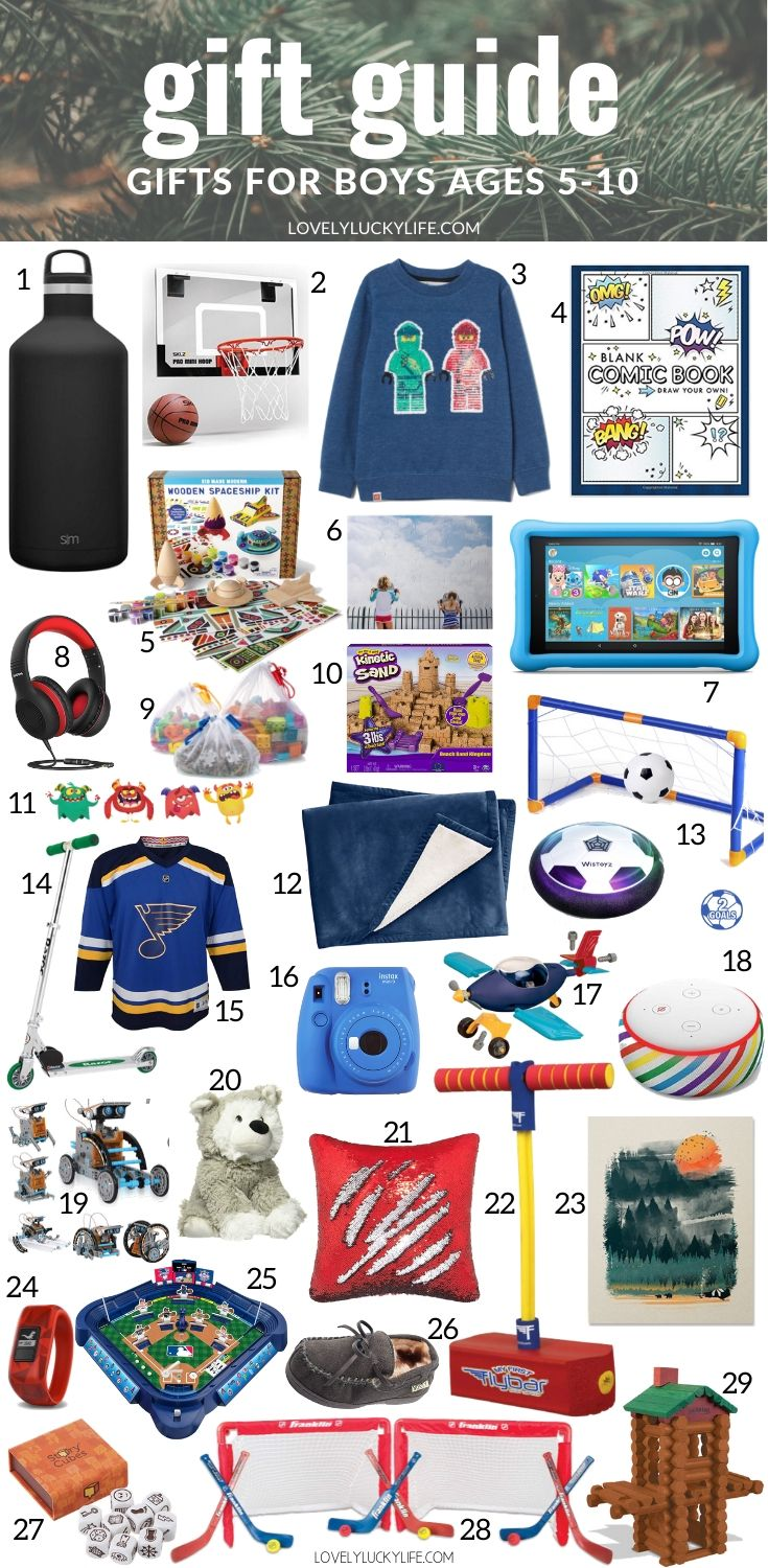 45 Best Christmas Gift Ideas For Boys Lovely Lucky Life