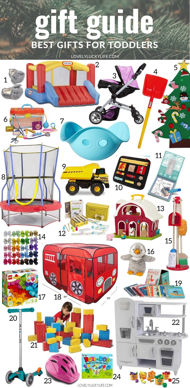 25 Best Christmas Gift Ideas For Toddlers Lovely Lucky Life
