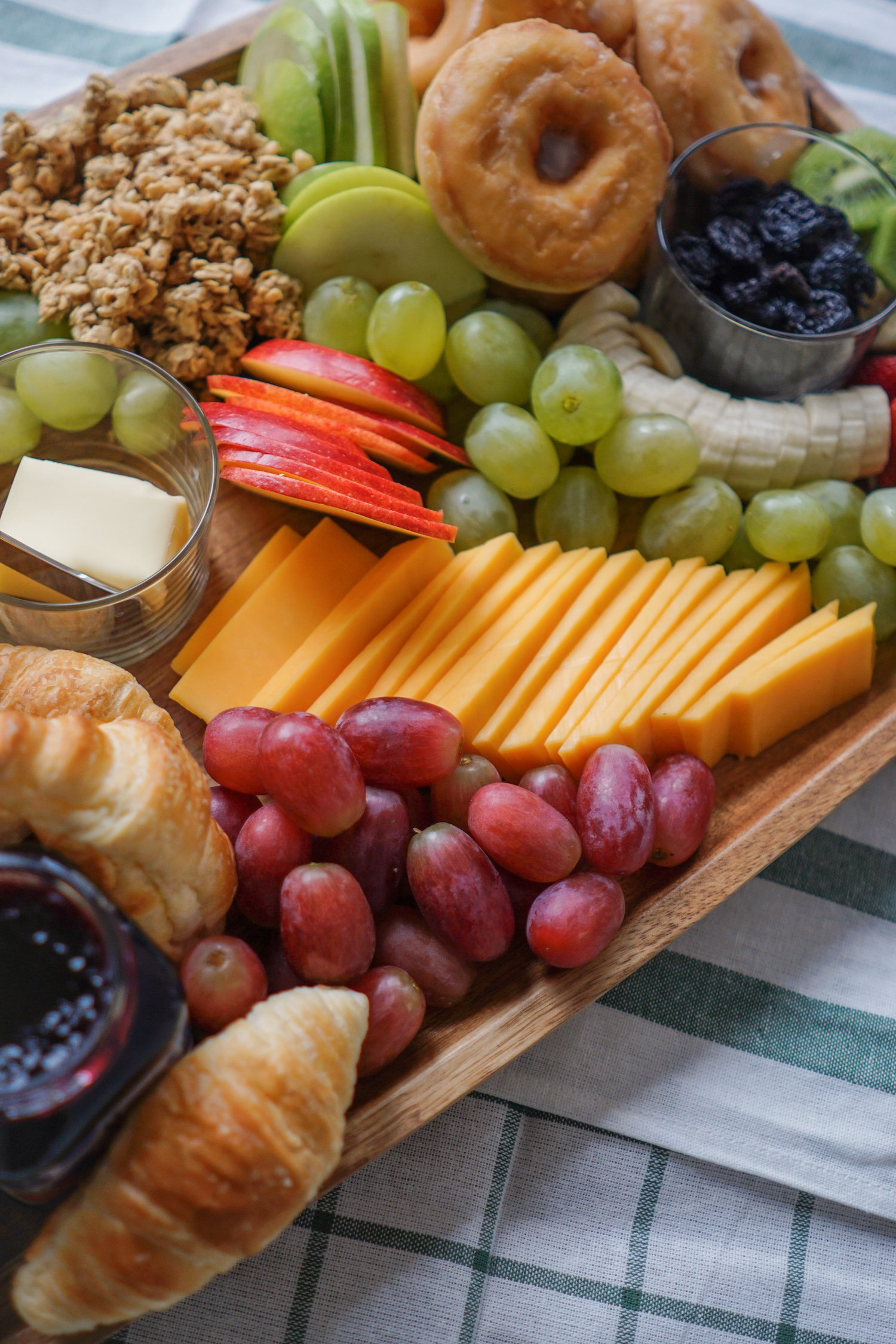 easy brunch cheese board
