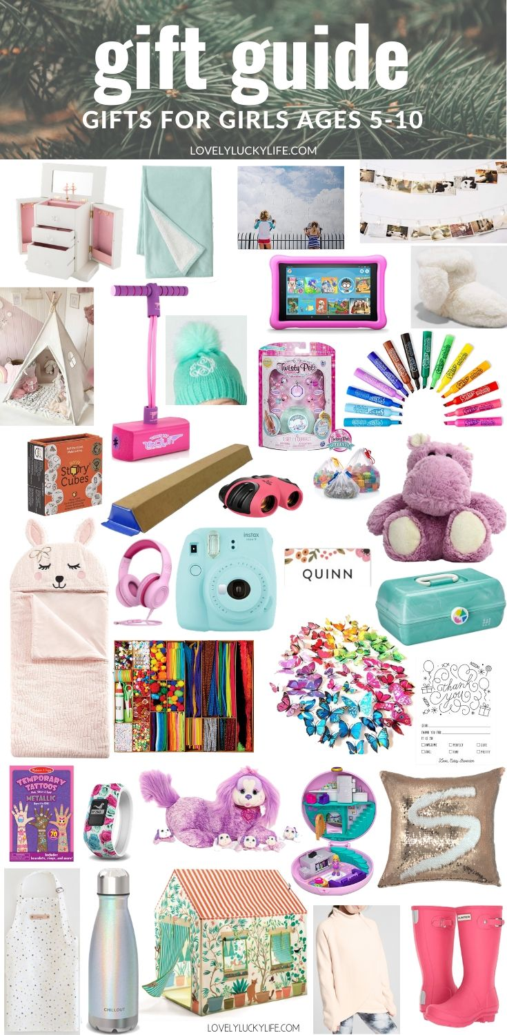 gift ideas for elementary school aged girls