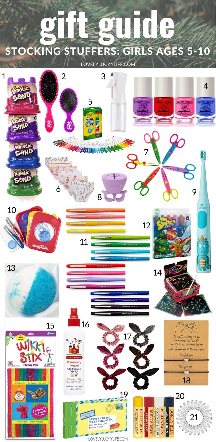 girl stocking stuffer ideas
