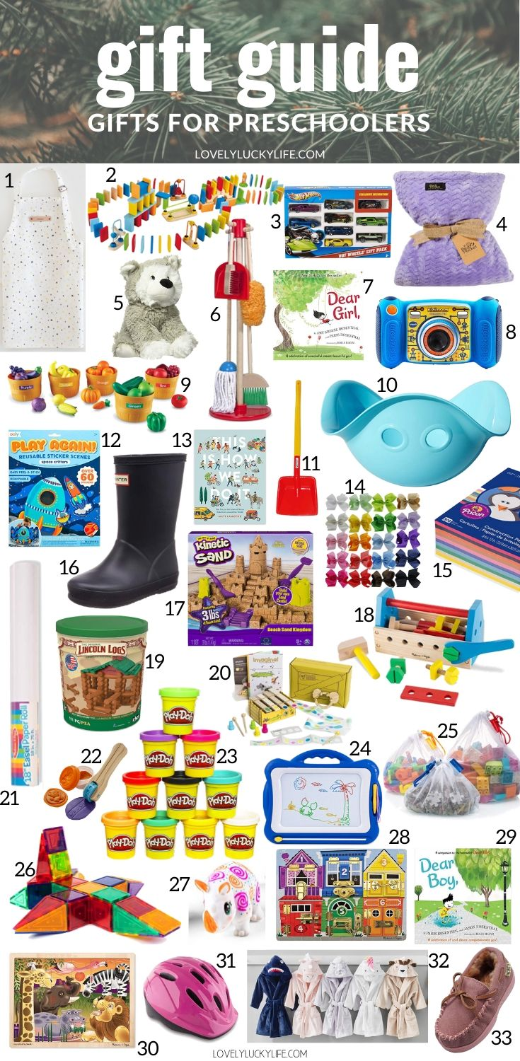 Best Christmas Gifts for Preschoolers , 60+ Ideas , Lovely