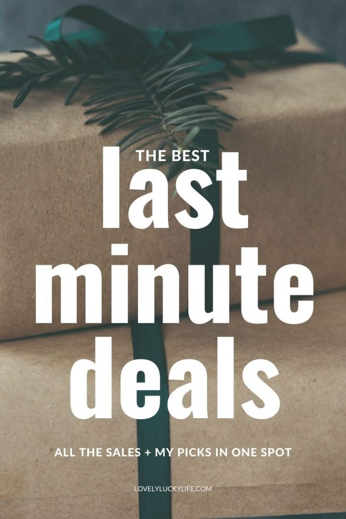 Last-Minute Holiday Steals & Deals