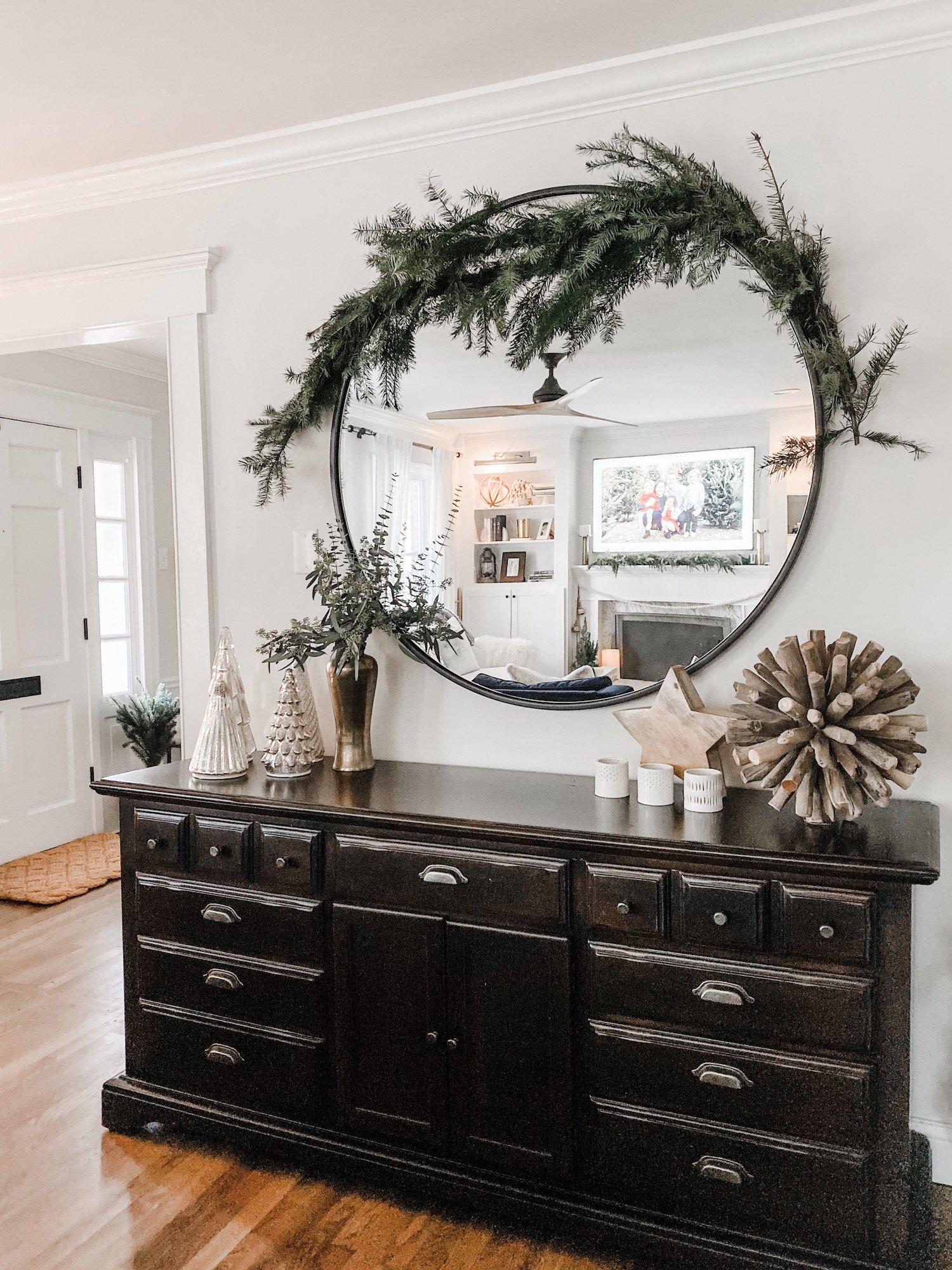Buffet Christmas Decor