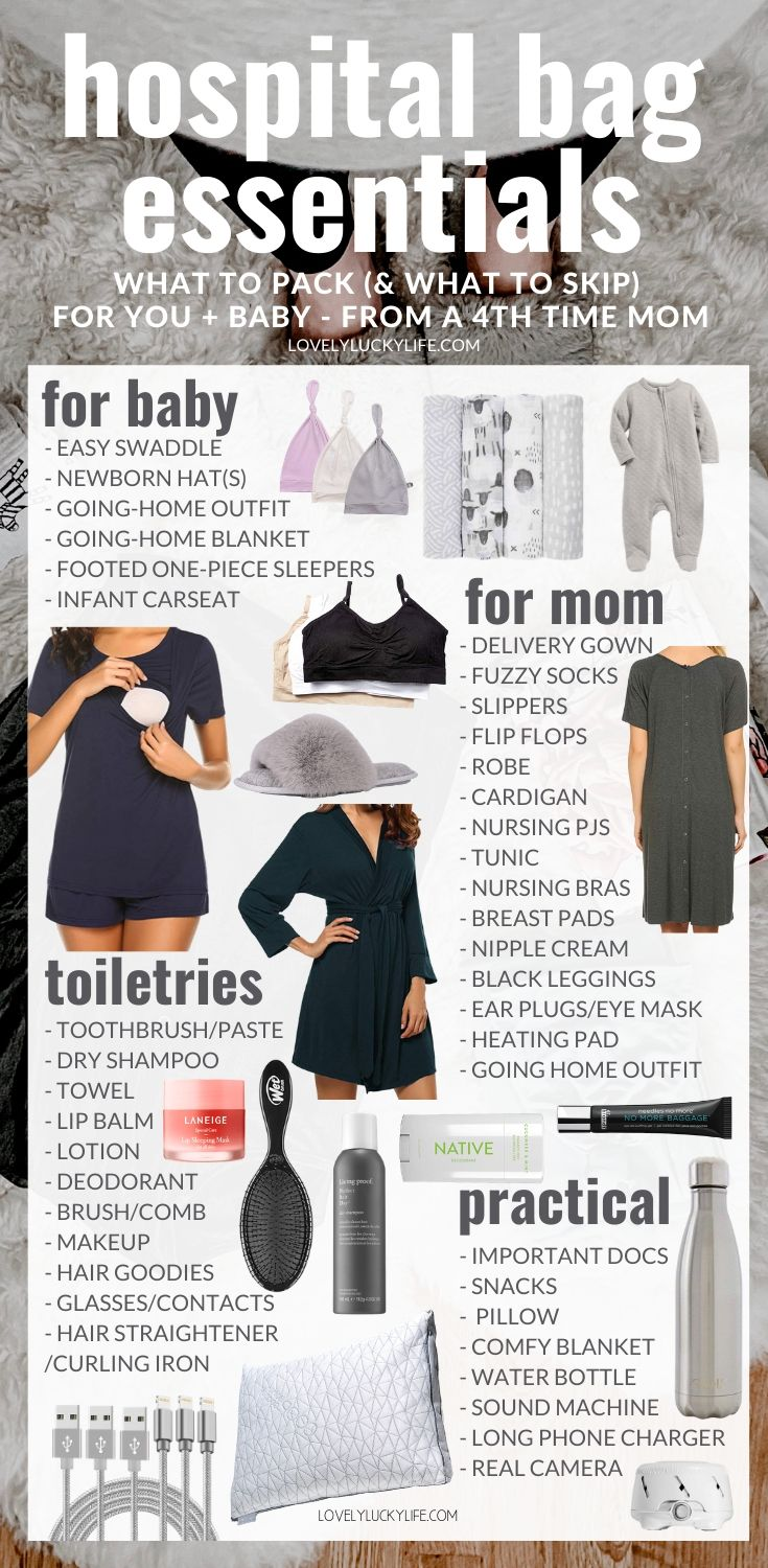what to pack for hospital