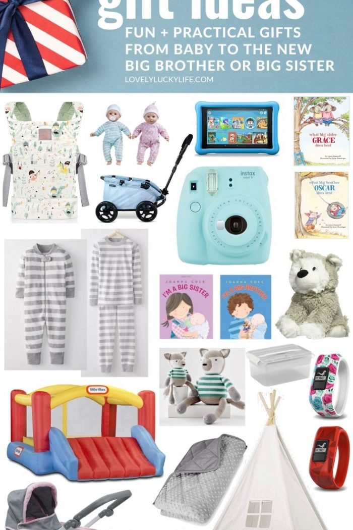 15 New Sibling Gift Ideas: Big Brother & Big Sister Gift Ideas from Baby